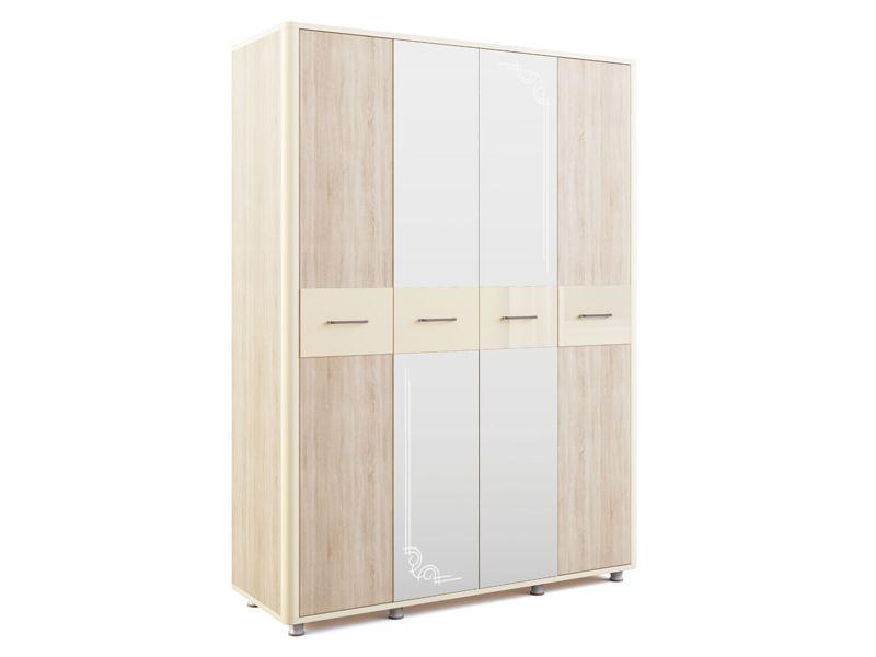 Шкаф 4-дверный Оливия Модуль 14