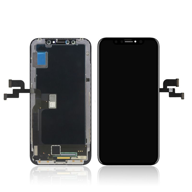 LCD (Дисплей) iPhone X (в сборе с тачскрином) (black) Оригинал