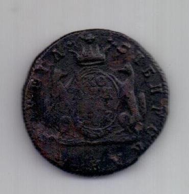 1 копейка 1767 г. R! редкий год. Сибирь