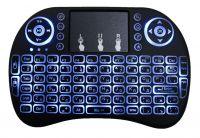 Беспроводная мини-клавиатура со светодиодной подсветкой