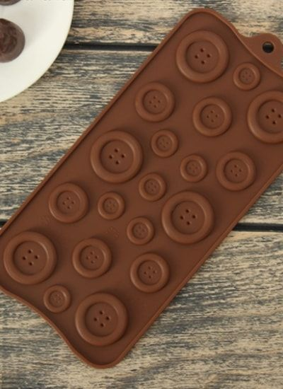 "Форма для шоколада, 19 ячеек, 22х10,5 см ""ПУГОВКИ"""