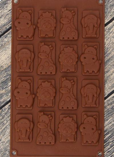 """Форма для льда и шоколада """"Животные"""""""