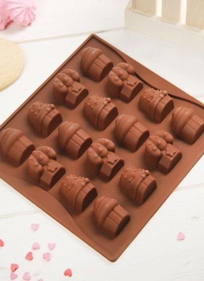"Форма для шоколада ""Капкейки"""