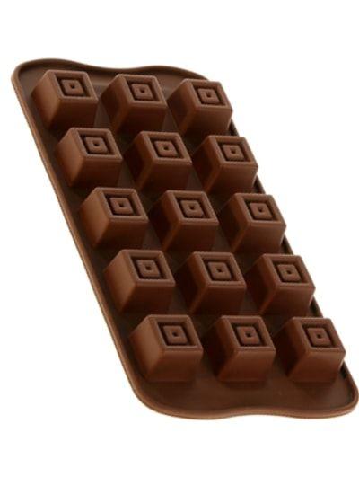 "Форма для шоколада, 15 ячеек, ""Конфетка"""