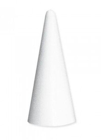 Конус из пенопласта 40*20см