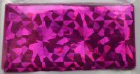 Фольга для дизайна ногтей, литья (переводная). Цвет: лиловая крупные осколки (Размер: 4см на 1 метр)