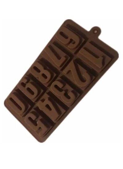 "Форма для шоколада ""Цифры"" силикон."