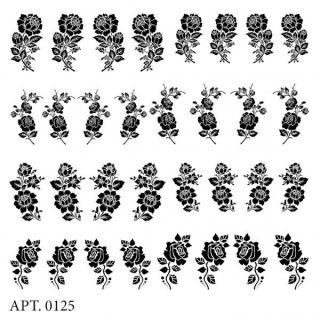 Слайдер-дизайн для ногтей № 0125