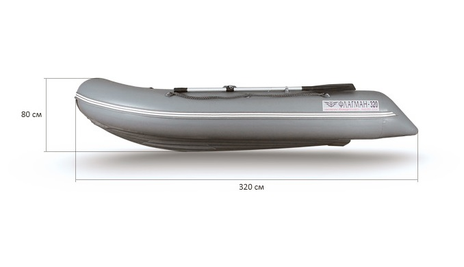 Лодка ФЛАГМАН 320 НДНД