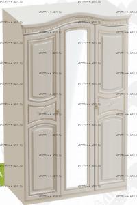 Шкаф 3-дверный Николь (132х56х227)