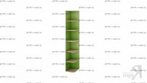 Стеллаж торцевой Киви ПМ-139.09 (35х43х220)