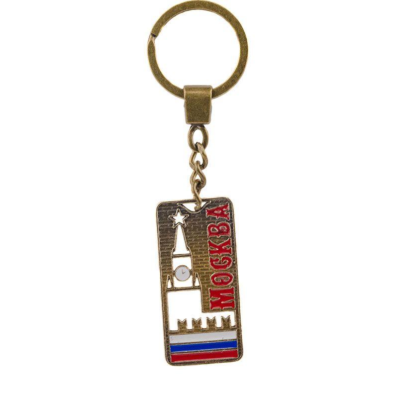 """Брелок с вырезом """"Москва"""""""