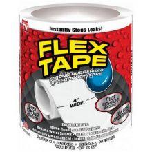Сверхсильная клейкая лента Flex Tape (10х152 см), Белый