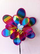 """Ветрячок """"Пчелка на цветке"""", 72 см."""