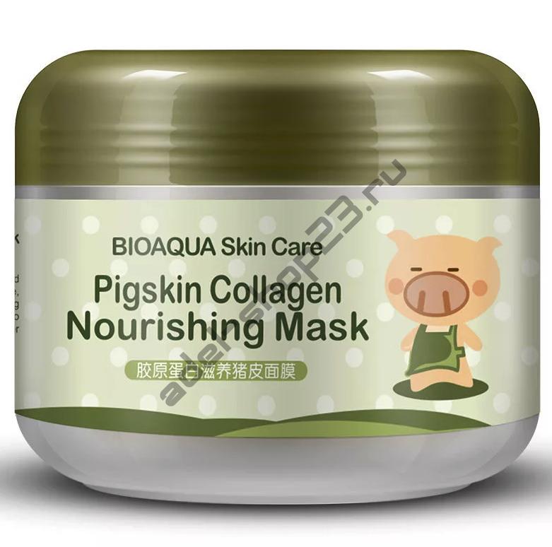 BIOAQUA - Pigskin Collagen Nourishing Mask , 100 г