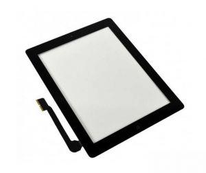 Тачскрин iPad 3/4 (в сборе с кнопкой Home) (black) Оригинал