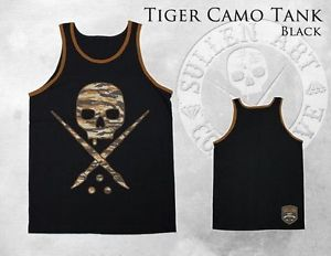 TIGER CAMO Tank Top for Men by Sullen