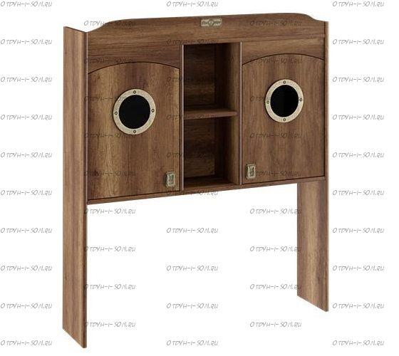 Шкаф настольный с иллюминатором Навигатор СМ-250.15.11 (121х28х140)