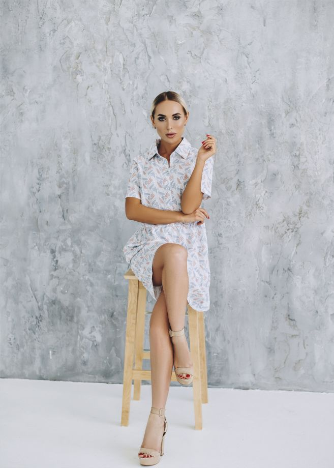 0743. Платье