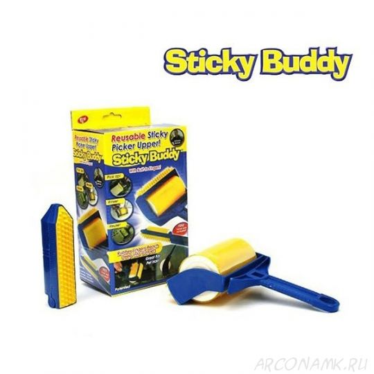 Липкий валик для уборки Sticky Buddy (Стики Бадди)