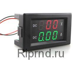 Вольт-амперметр DС до 100V 20A