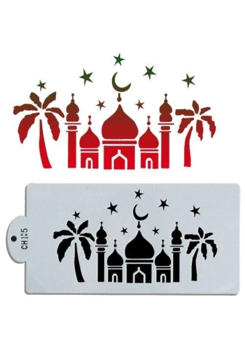 Трафарет Мечеть