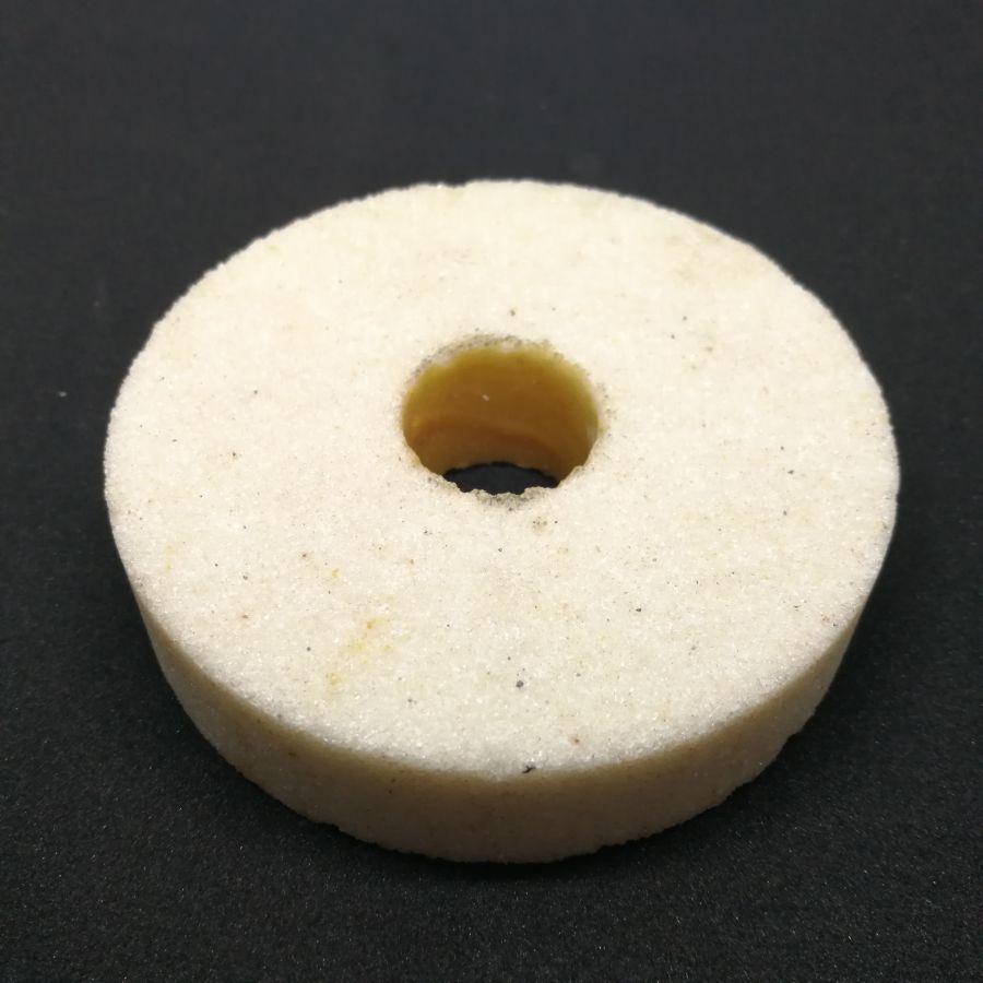 Камень заточной 65x13,2x8 мелкое зерно (конус) белый