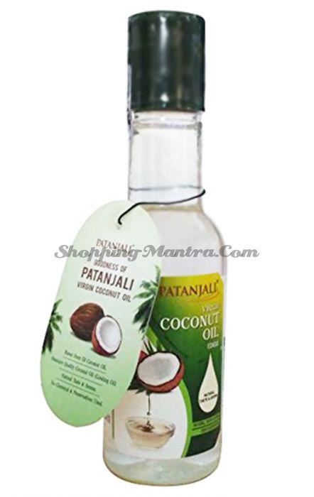 Нерафинированное кокосовое масло Патанджали Аюрведа   Divya Patanjali Virgin Coconut Oil