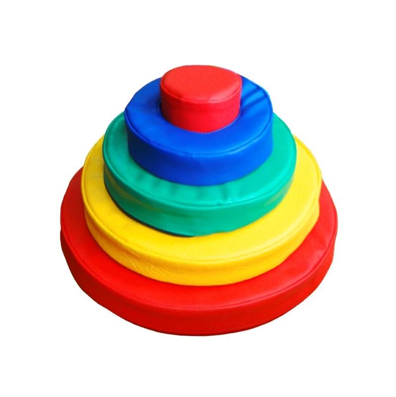 Дидактическая Пирамида-сортировщик, 40х25 см