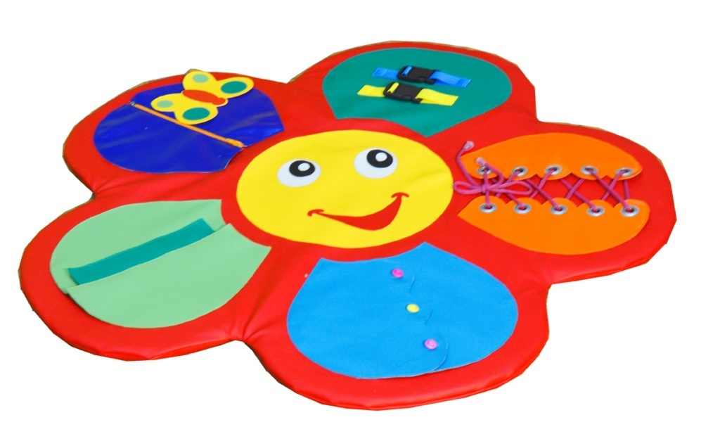 """Детский дидактический мат-игра """"Цветок"""", 88 см"""