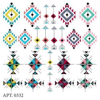 Слайдер-дизайн для ногтей № 0332