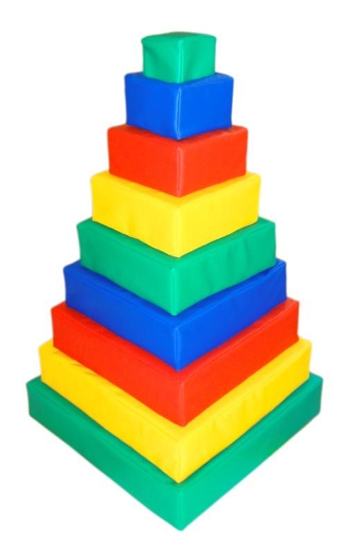Дидактическая пирамида-сортировщик