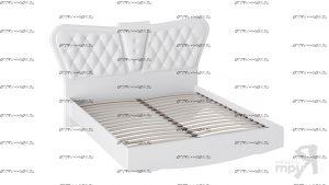 Кровать с мягким изголовьем Аврора СМ-268.01.03 (160х200)