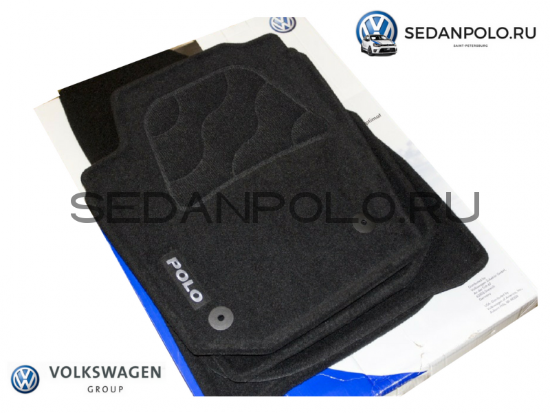 Ковры салона текстиль VAG Volkswagen Polo Sedan