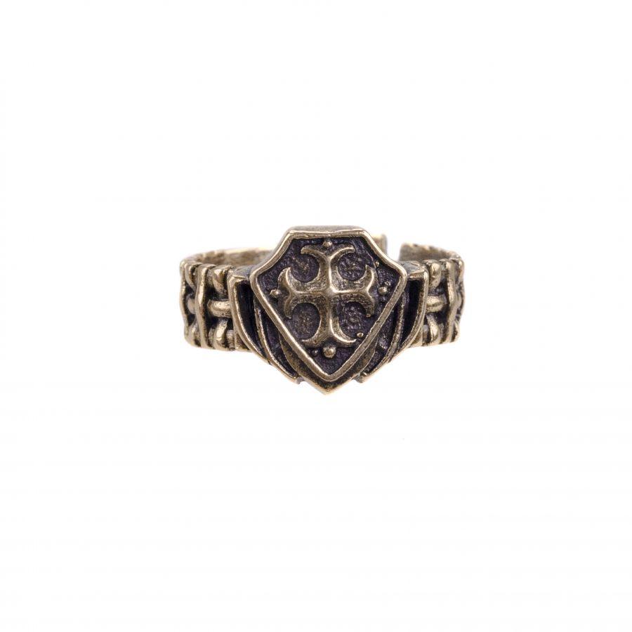 """Кольцо """"Тайное общество. Тамплиер Ордена бедных рыцарей Христа"""""""