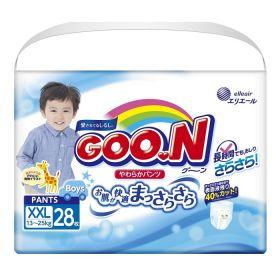 Трусики Goo.N для мальчиков 13-28кг, 28шт