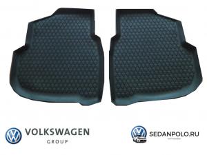 Ковры салона задние оригинал VAG Volkswagen Polo Sedan