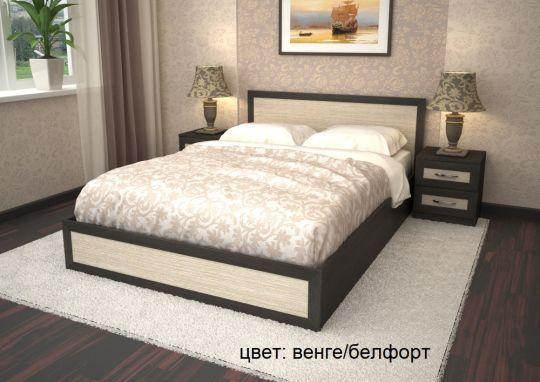 Кровать ЛДСП со штапиком