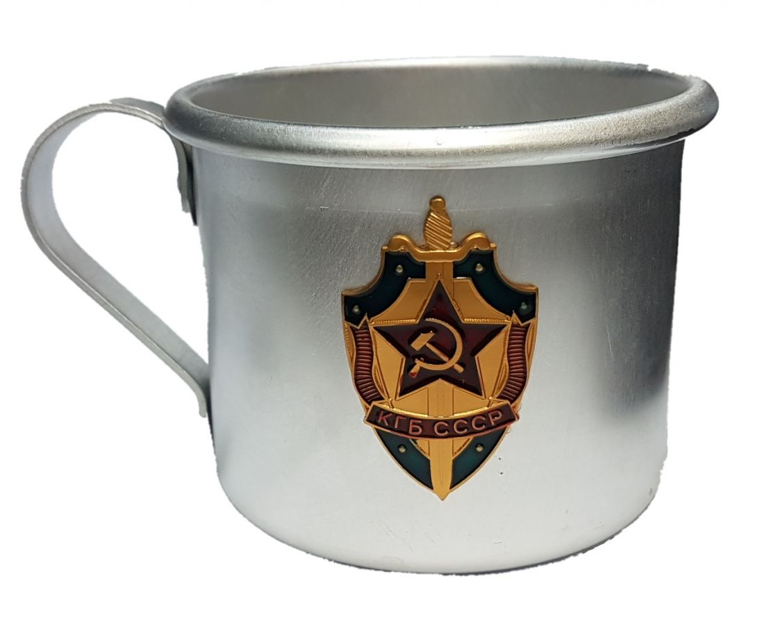 Кружка алюминиевая КГБ СССР