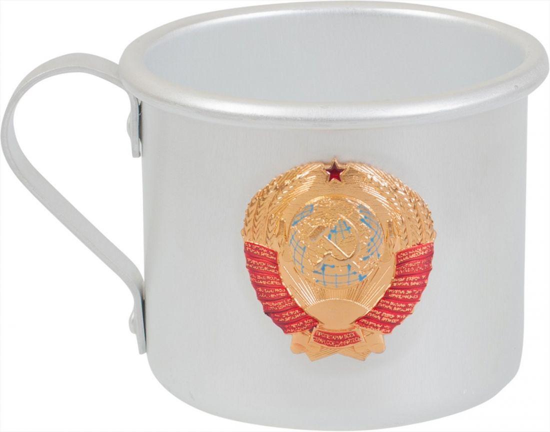 Кружка алюминиевая Герб СССР
