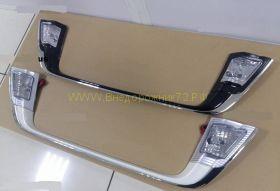 Накладка под номер с подсветкой для Toyota Land Cruiser 200
