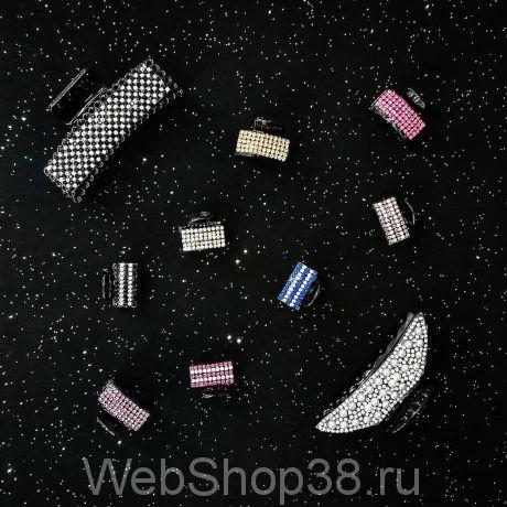 Крабики для волос со стразами