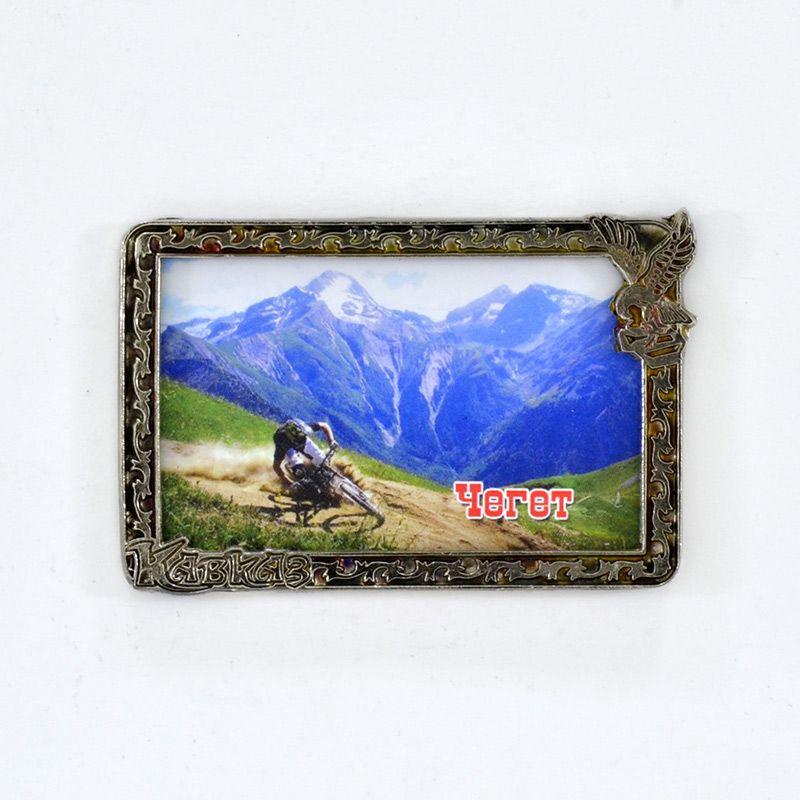 """Сувенирный магнит """"Кавказ. Чегет"""""""