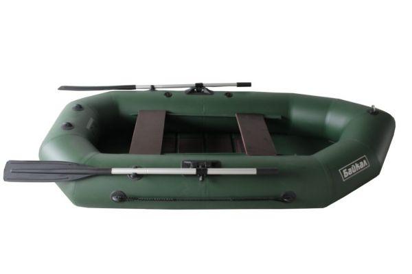 Надувная гребная лодка ПВХ БАЙКАЛ 260 РС