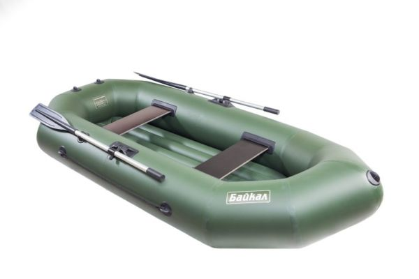 Надувная гребная лодка ПВХ БАЙКАЛ 260 НД