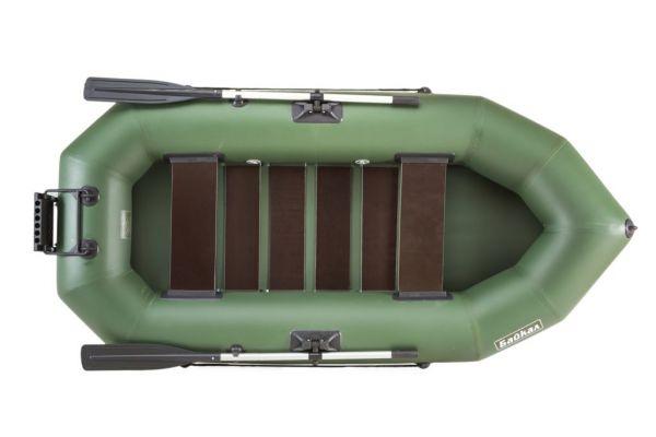Надувная лодка ПВХ с раскладным транцем БАЙКАЛ 250 РС ТР