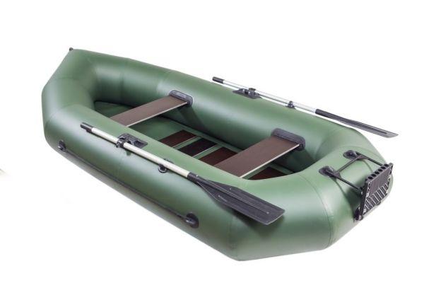 Надувная лодка ПВХ с раскладным транцем БАЙКАЛ 280 РС ТР