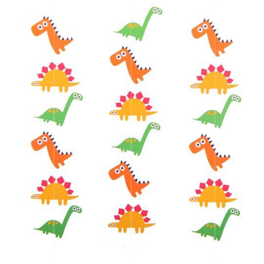 Динозавры Вертикальная гирлянда