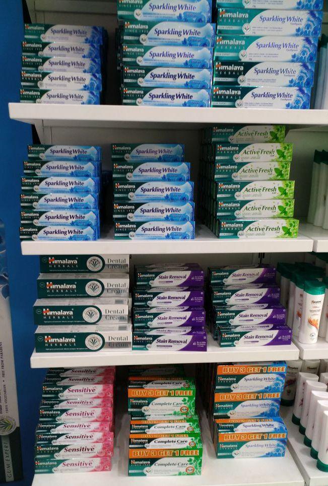 Зубная паста Himalaya из Индии, разные виды (отправка из Индии)