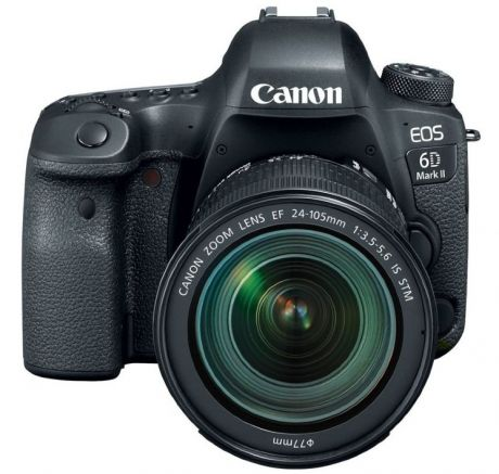 Зеркальный фотоаппарат CANON EOS 6D MARK II KIT 24-105 IS STM